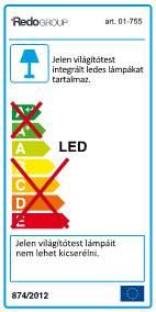 Redo Avenue 01-755 modern fali lámpa / Redo / lámpák