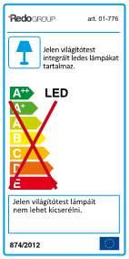 Redo Well 01-778 LED fürdőszobai fali lámpa