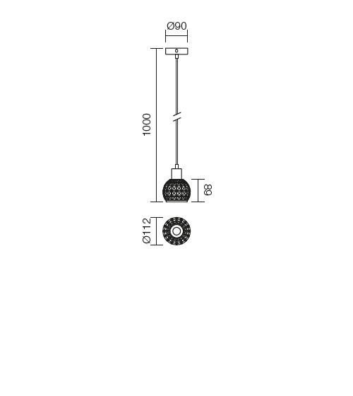 Redo Diamond 04-370 modern függeszték / Redo / lámpák