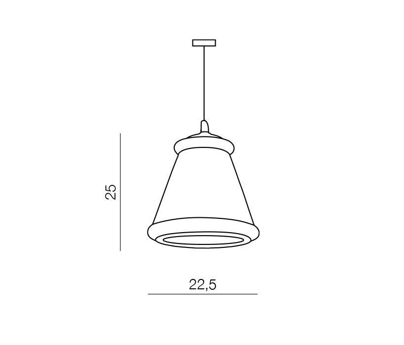 Azzardo AZ-0453 Ken 1 izzós függeszték / Azzardo AZ-MD5174 / lámpa