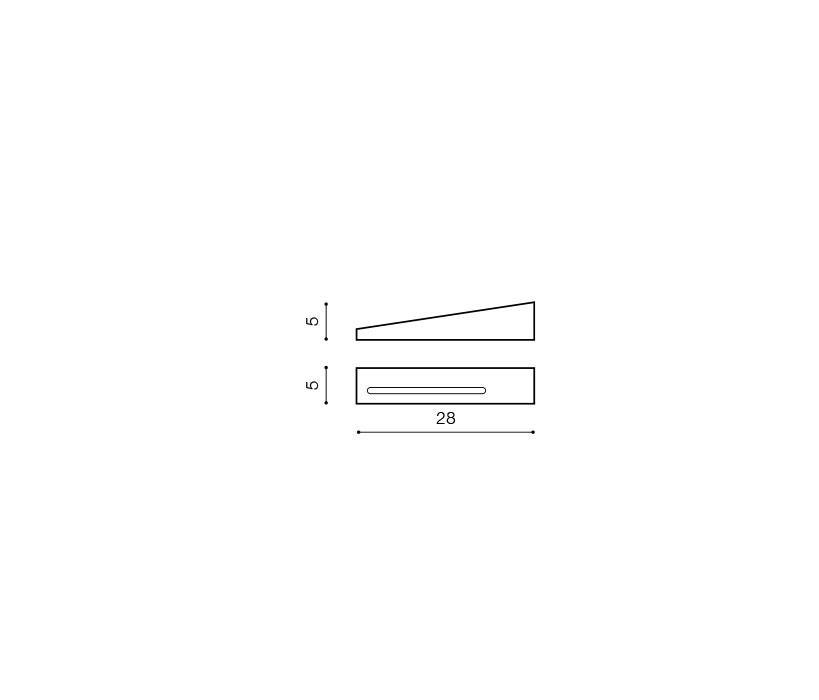 Azzardo AZ-0574 Vialetto fali lámpa / Azzardo AZ-MB5796S-LCH / lámpa