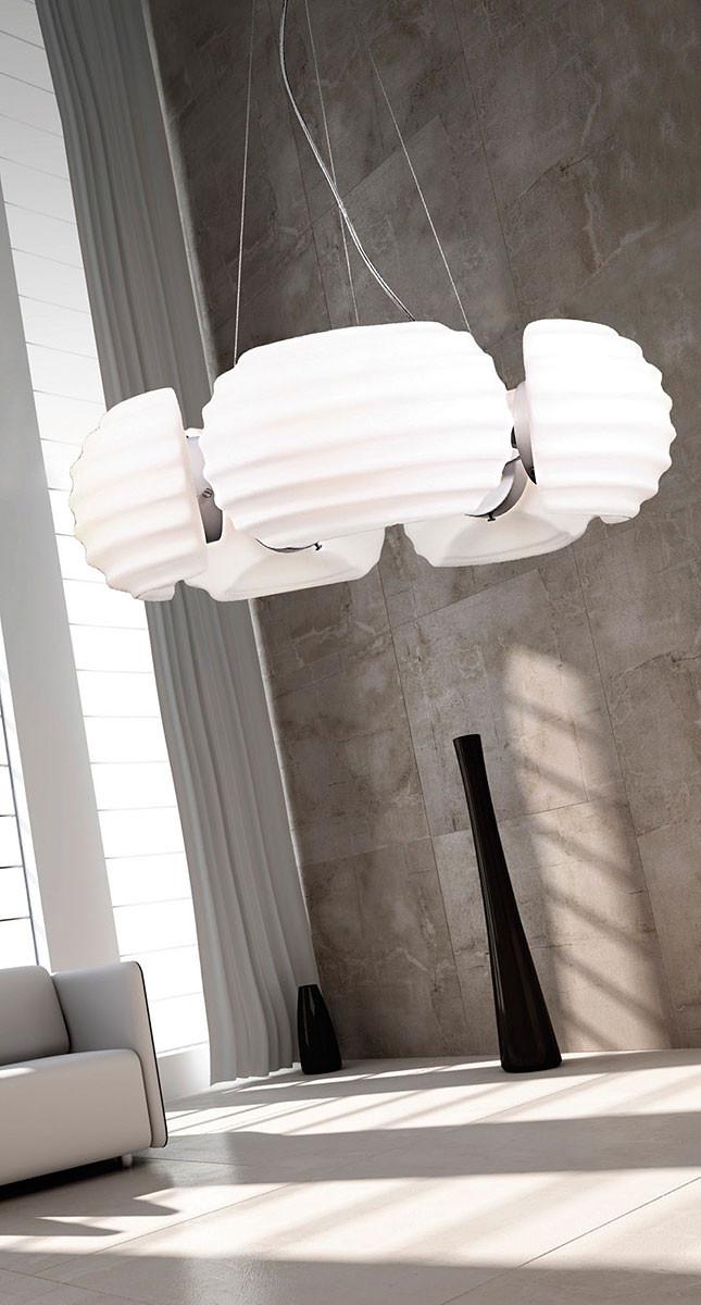 AZzardo AZ-0115 Rondo 5 izzós függeszték / Azzardo AZ-DH6081-5 / lámpa