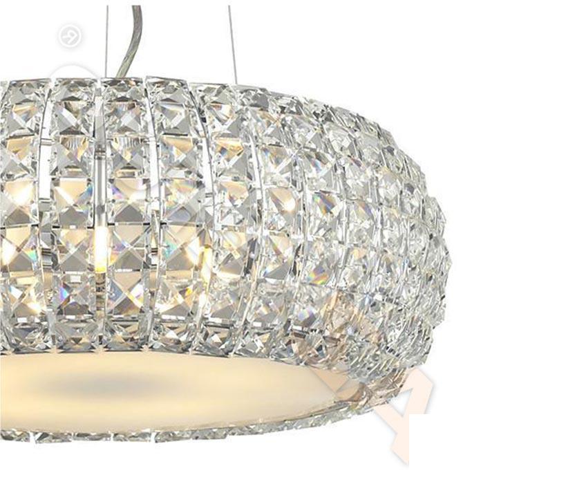 Azzardo AZ-0520 Sophia 3 izzós kristály függeszték / Azzardo AZ-5024-3P / lámpa