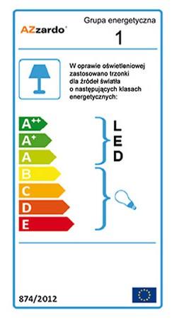 AZzardo AZ-1290 Bertone függeszték / AZzardo AZ-7103-2P /