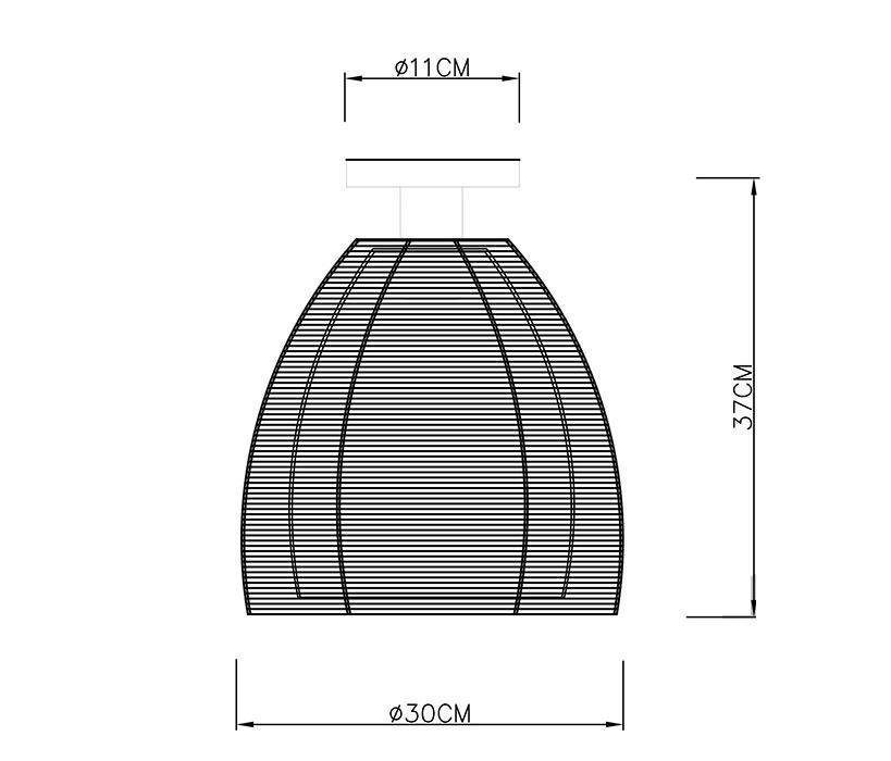 Zuma Pico mennyezeti lámpa / Zuma / lámpa ZU-MX9023-1LBK