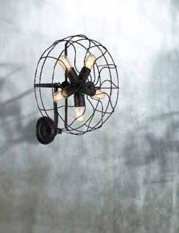 AZzardo AZ-1349 Fan fali lámpa