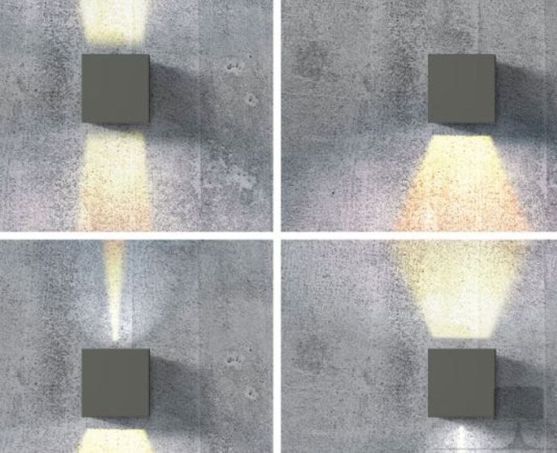AZzardo AZ-0958 Gambino Led fali lámpa / AZzardo AZ-LC8005BGR /