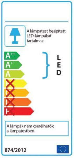 AZzardo AZ-0934 Brina Led izzós függeszték / AZzardo AZ-LP9003-6CH /