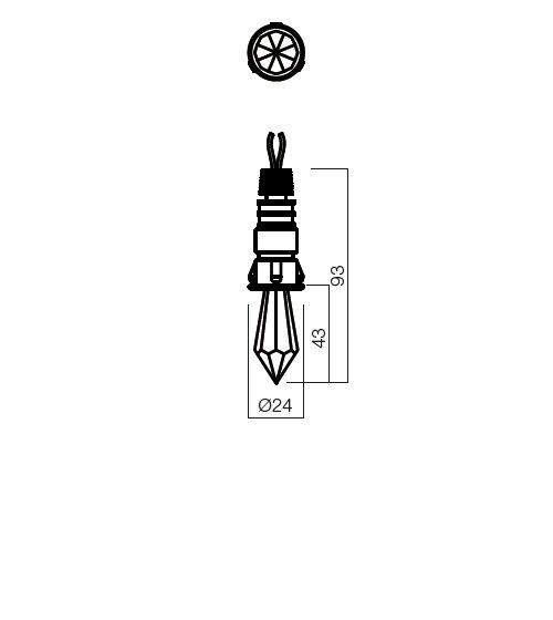 Redo CR32  70303 LED modern beépíthető lámpa / Redo / lámpák