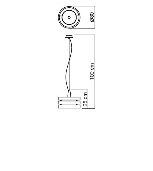 Redo Kim 01-476 modern függeszték / Redo / lámpák