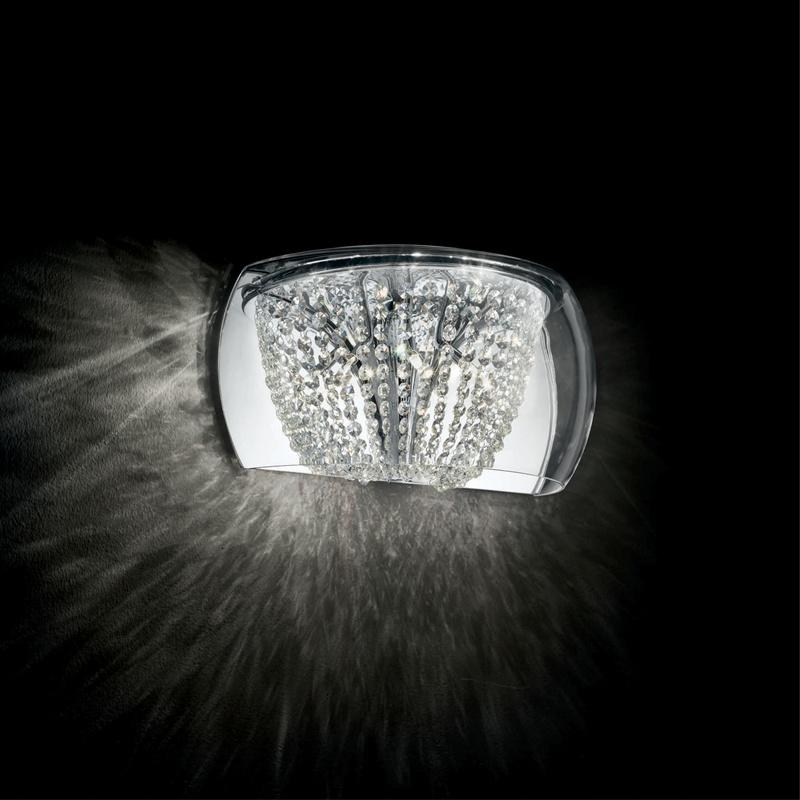 Ideal Lux 133911 Audi-61 AP4 kristály falilámpa
