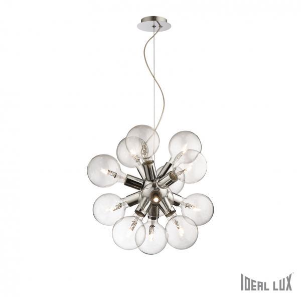 Ideal Lux 074771 Dea SP12 Cromo lámpafüggeszték
