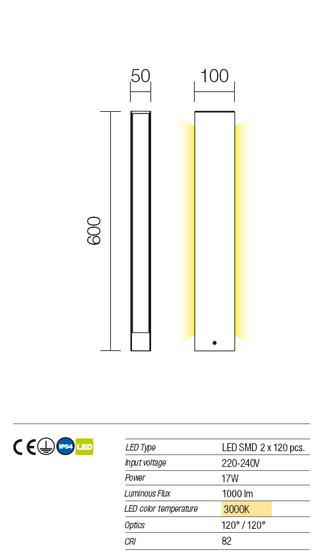 Redo Twin 9463 modern kültéri állólámpa / Redo / lámpák