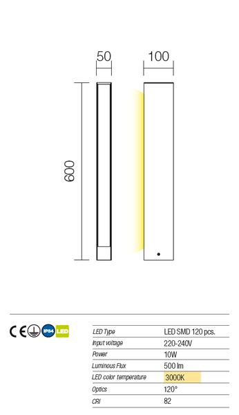 Redo Twin 9472 modern kültéri állólámpa / Redo / lámpák