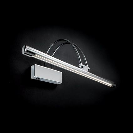 Ideal Lux 007021 Bow AP114 Cromo LED képmegvilágító lámpa