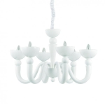 Ideal Lux 093994 Bon Bon SP6 Bianco csillár