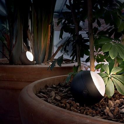 Ideal Lux 108407 Zenith PT1 Small Antracite kültéri talajba szúrható lámpa