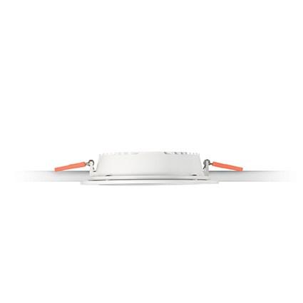 Ideal Lux 123998 Groove FL1 20W Round 3000k led beépíthető lámpa