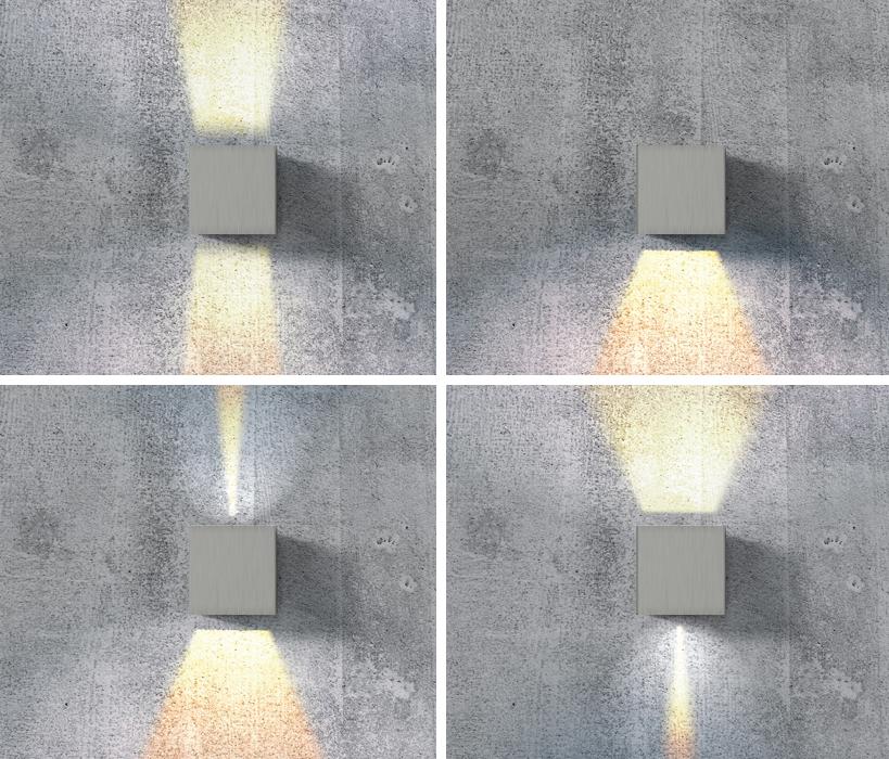 AZzardo AZ-1057 Leticia fali lámpa / AZzardo Az-GM1111-ALU /