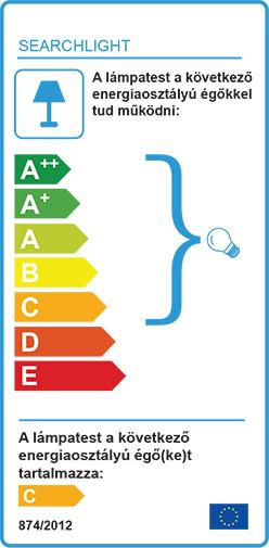 Searchlight Molecule 8312-12CC lámpa függeszték