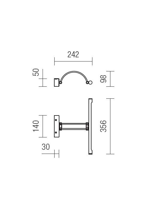 Redo Ikon 01-455 modern képmegvilágító lámpa / Redo / lámpák