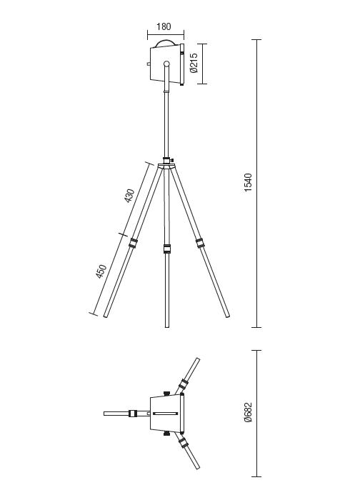 Redo Soho 02-388 modern állólámpa / Redo / lámpák