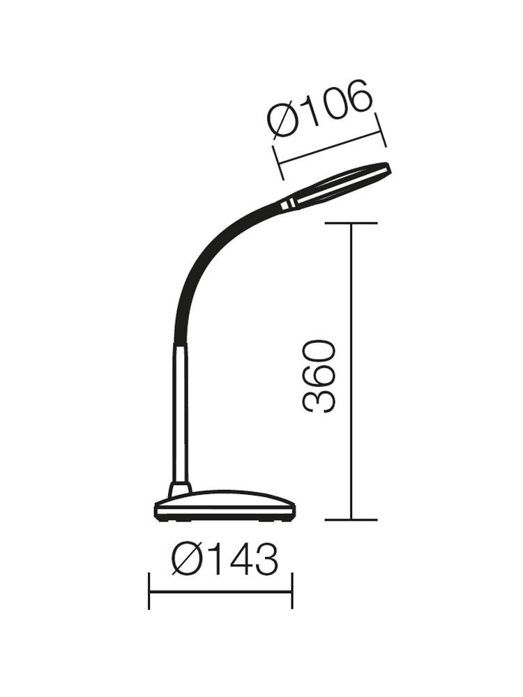 Redo IRION 01-1046 modern asztali lámpa / Redo / lámpák