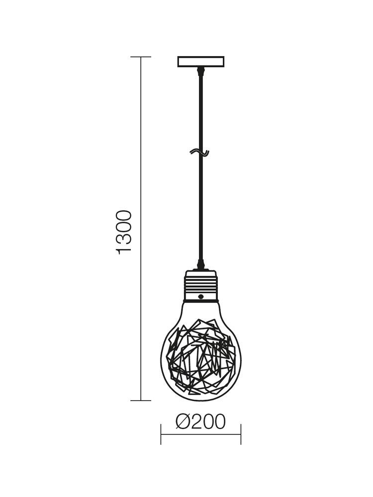 Redo SNOOT 01-888 modern függeszték / Redo / lámpák
