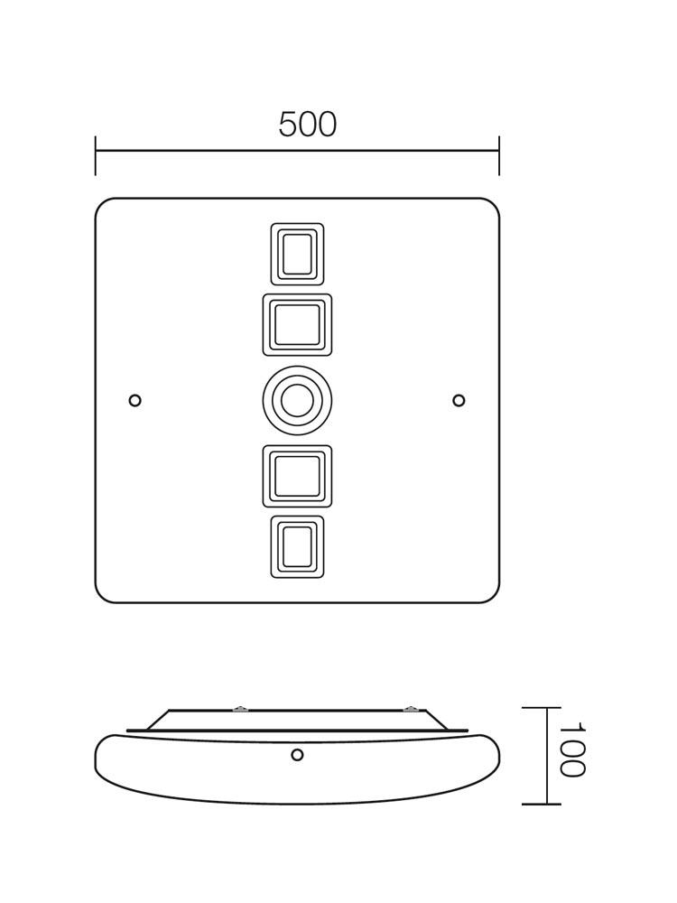 Redo MIRUNA 05-670 modern mennyezeti lámpa / Redo / lámpák