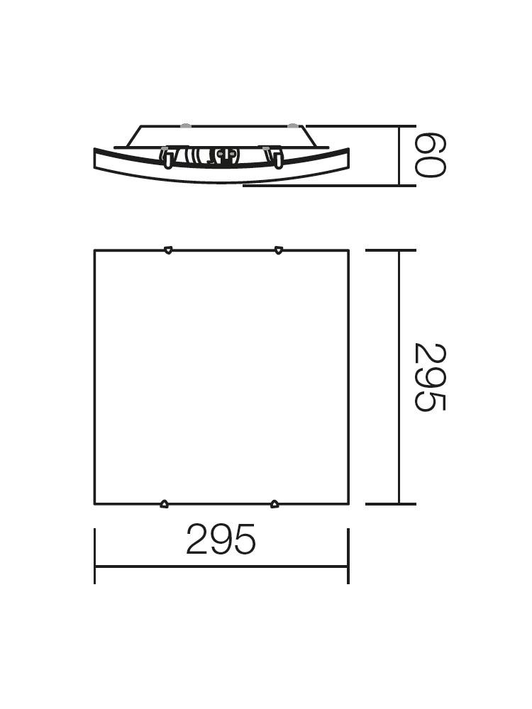 Redo NOTES 05-817 modern mennyezeti lámpa / Redo / lámpák