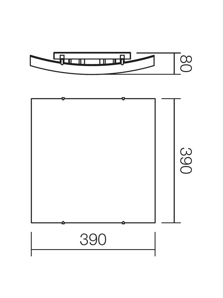 Redo NOTES 05-818 modern mennyezeti lámpa / Redo / lámpák