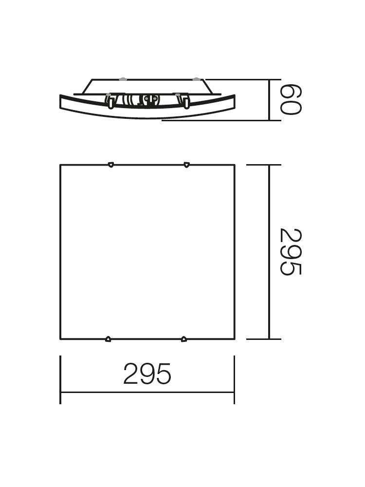 Redo SHAKE 05-812 klasszikus mennyezeti lámpa / Redo / lámpák