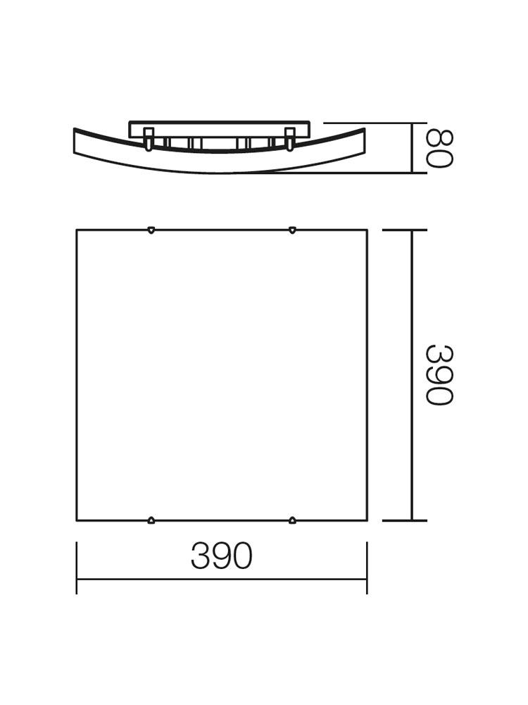 Redo SHAKE 05-813 klasszikus mennyezeti lámpa / Redo / lámpák