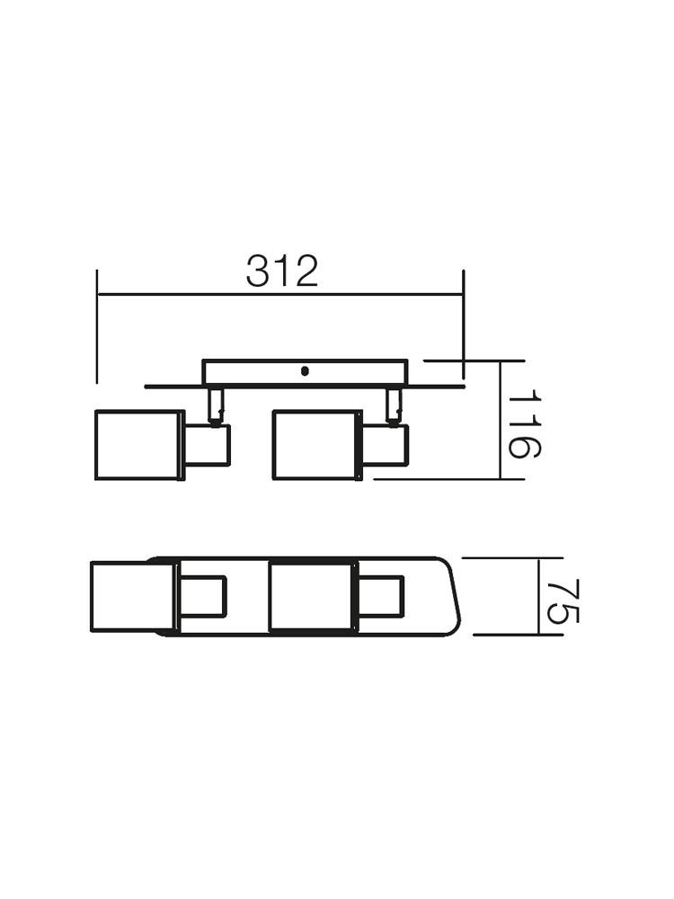 Redo PAVO 04-310 modern spot mennyezeti lámpa / Redo / lámpák