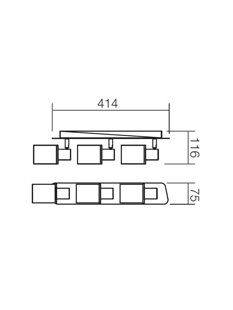 Redo PAVO 04-311 modern spot mennyezeti lámpa / Redo / lámpák