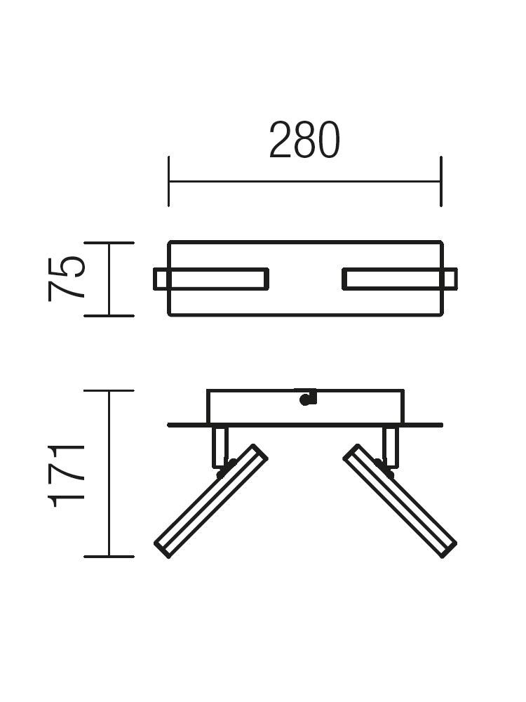 Redo STICK 04-137 modern spot mennyezeti lámpa / Redo / lámpák