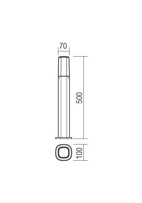 Redo CRAYON 9075 modern kültéri állólámpa / Redo / lámpák