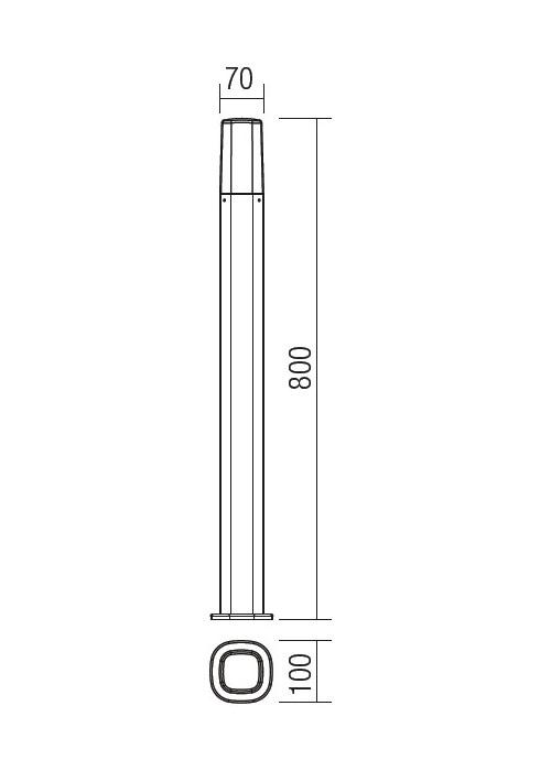 Redo CRAYON 9078 modern kültéri állólámpa / Redo / lámpák