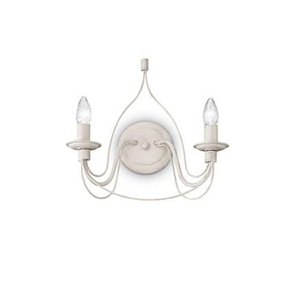 Ideal Lux 028460 Corte AP2 Antico Bianco falilámpa
