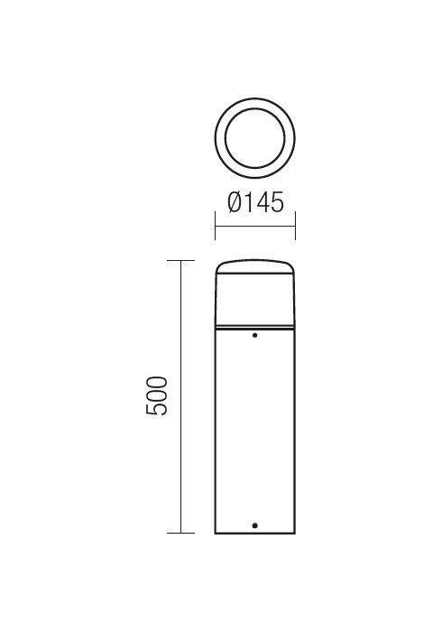 Redo CYCLO 9680 modern kültéri állólámpa / Redo / lámpák