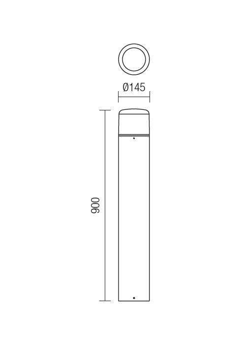 Redo CYCLO 9682 modern kültéri állólámpa / Redo / lámpák