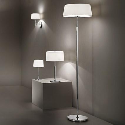 Ideal Lux 075532 Hilton TL2 Bianco asztali lámpa