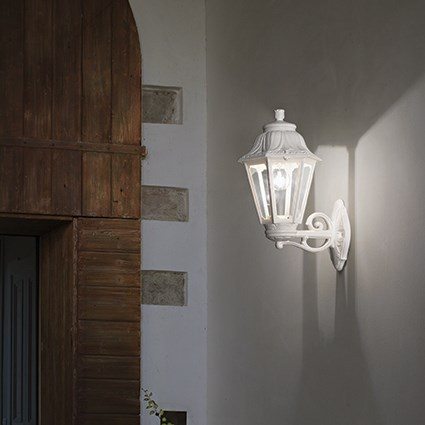 Ideal Lux 120423 Anna AP1 Big Bianco kültéri fali lámpa