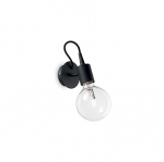 Ideal Lux 148908 EDISON AP1 NERO falikar
