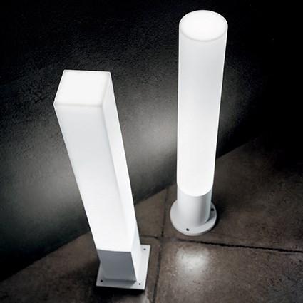 Ideal Lux 135755 Edo Outdoor PT1 Round Bianco kültéri állólámpa