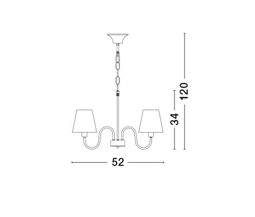 Nova Luce NL-7120021 Elizabeth csillár (több ágú) / Nova Luce / lámpa