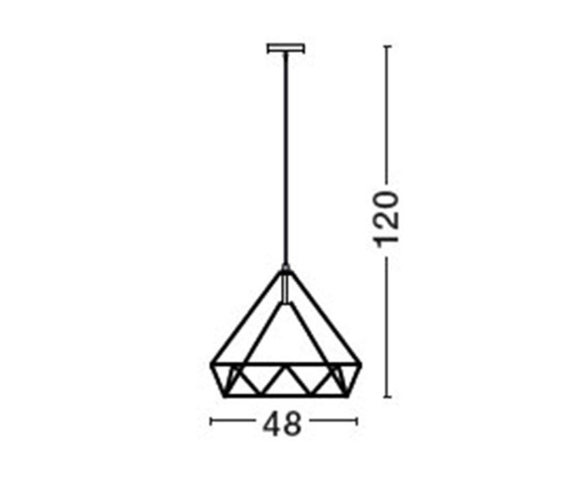 Nova Luce NL-7140073 Zaira függeszték (1 ágú) / Nova Luce / lámpa