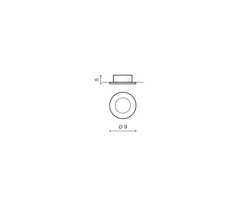 AZzardo AZ-0809 Emilio beépíthető fürdőszobai lámpa / AZzardo AZ-GM2104BK /