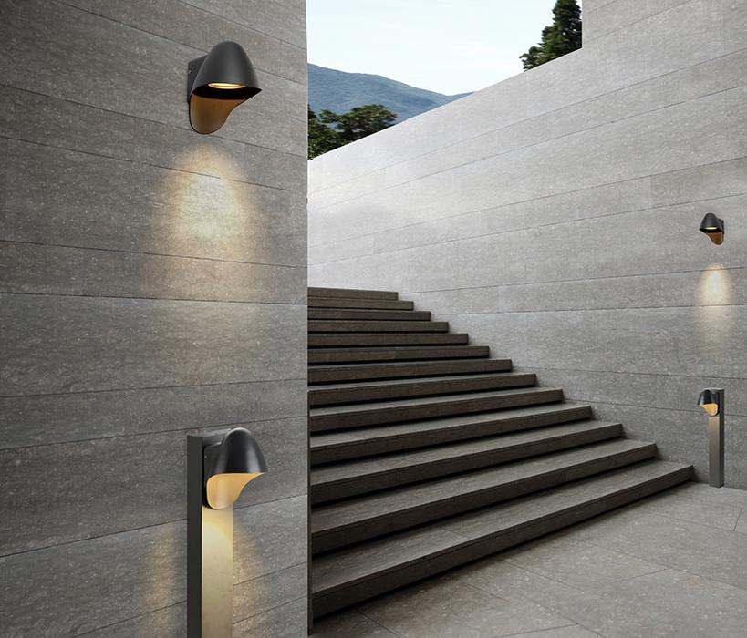 AZzardo AZ-2184 Matera kültéri fali lámpa / AZzardo AZ-MAX-1381-DGR /