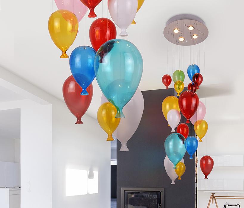 AZzardo AZ-2164 Balloon gyermek függeszték 4 izzós / Azzardo AZ-MD50150-4 /